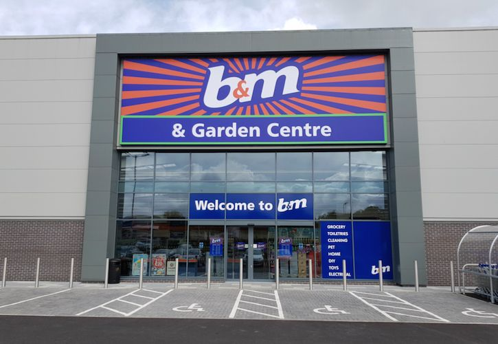 B&M Livingston new store