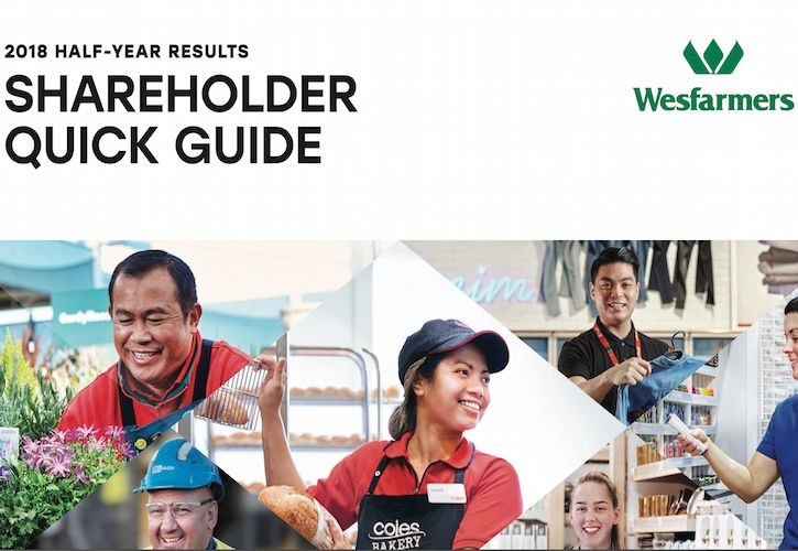 Wesfarmers Half Year Results Quick Guide