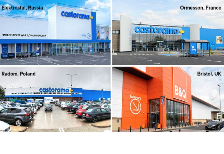 Kingfisher new stores