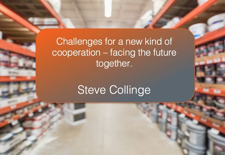 Challenges for a new kind of cooperation image