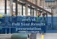 Ferguson Full Year Results Presentation 725 x 500