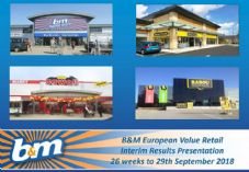 B&M interim results presentation 725 x 500