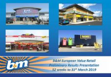 B&M 2018-19 Preliminary Results Presentation