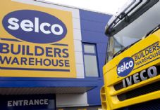 Selco sign and lorry