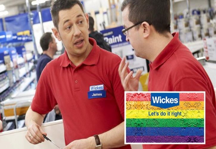 Wickes James Cox Manchester Pride