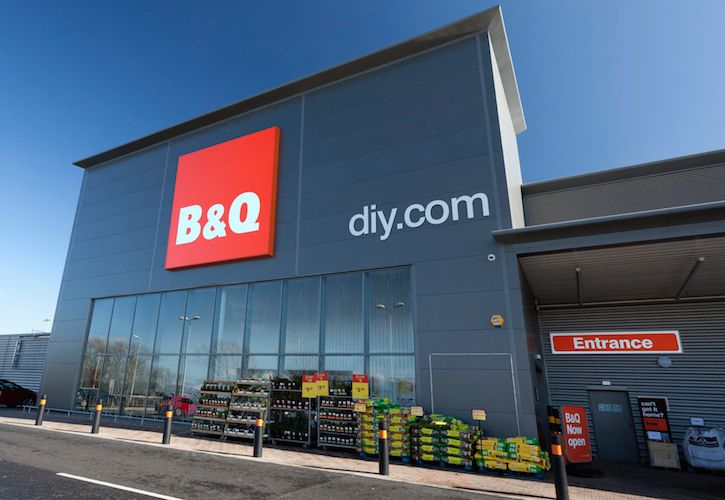 B&Q new store front