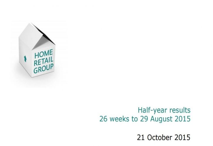 HRG half year results presentation