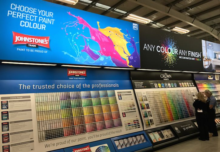 Bunnings St.Albans paint mixing