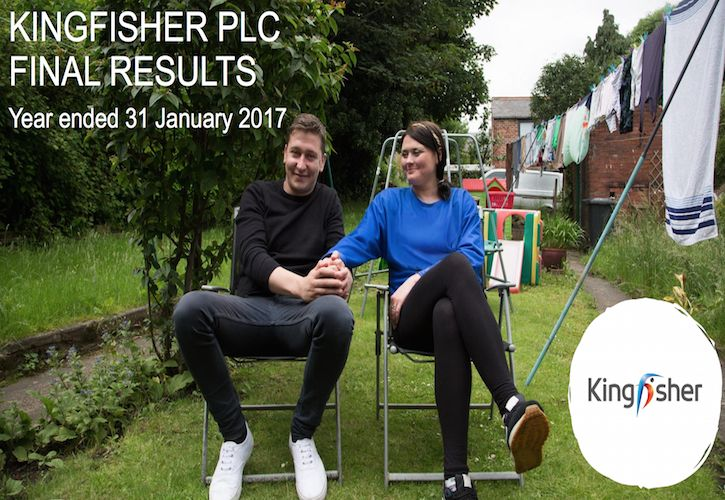 Kingfisher 2017 Final Results Presentation Image