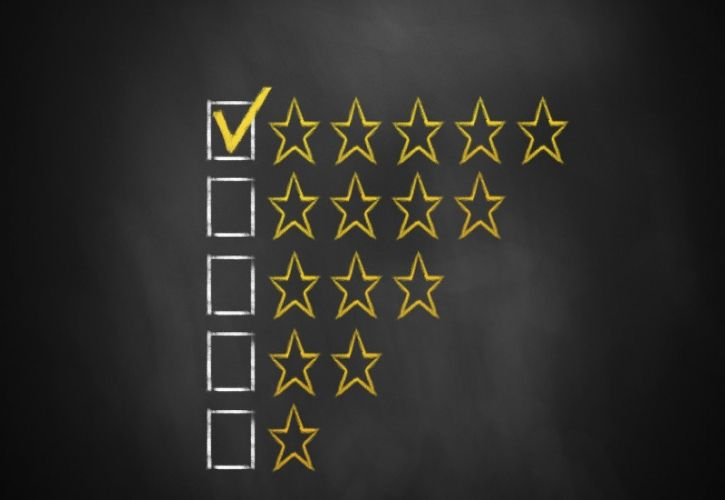 Review star rating