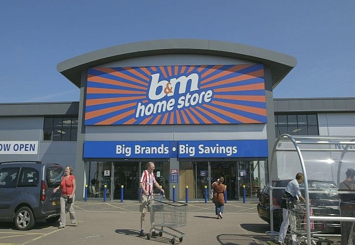 B&M large store