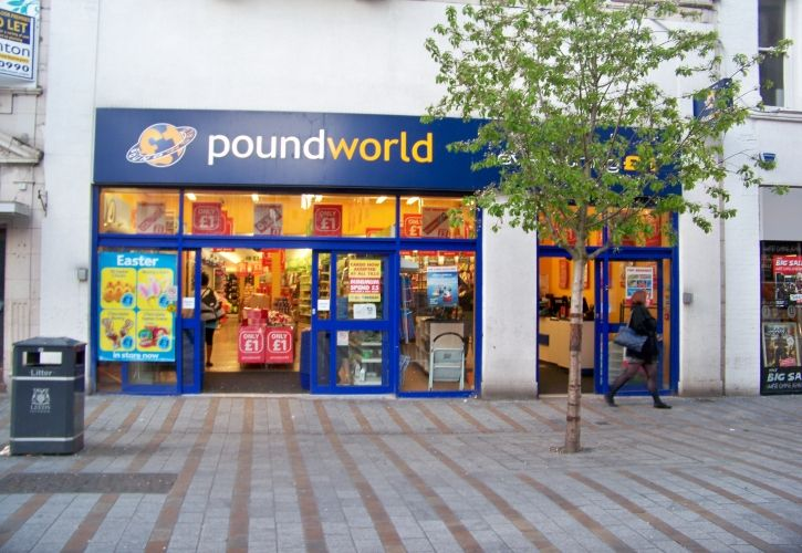 Poundworld store