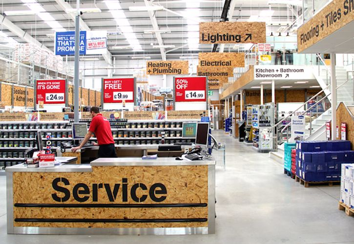 New Wickes store