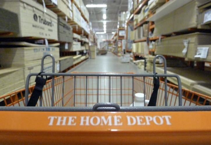 The Home Depot trolley