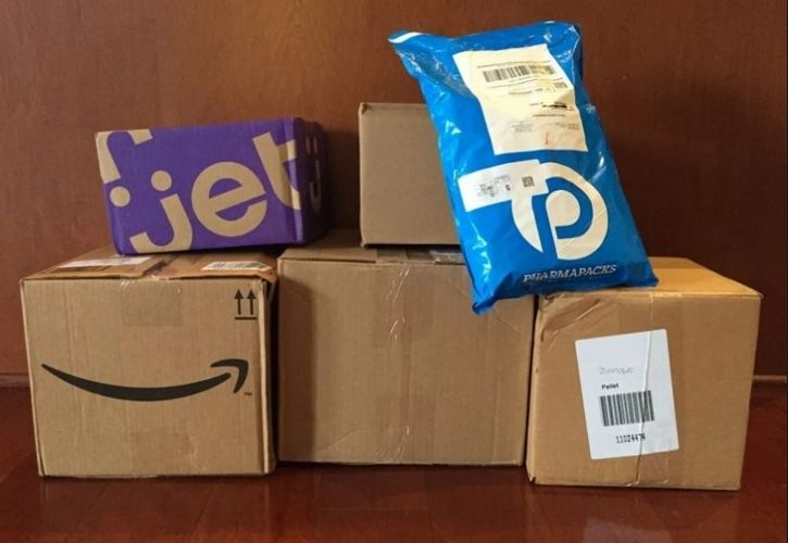 Amazon, Jet and Walmart delivery
