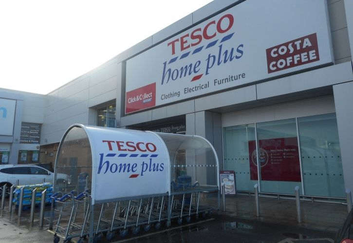 Tesco Homeplus store UK