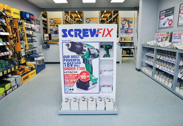 Screwfix Ipswich