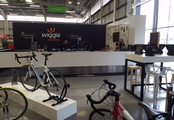 Wiggle Homebase concession