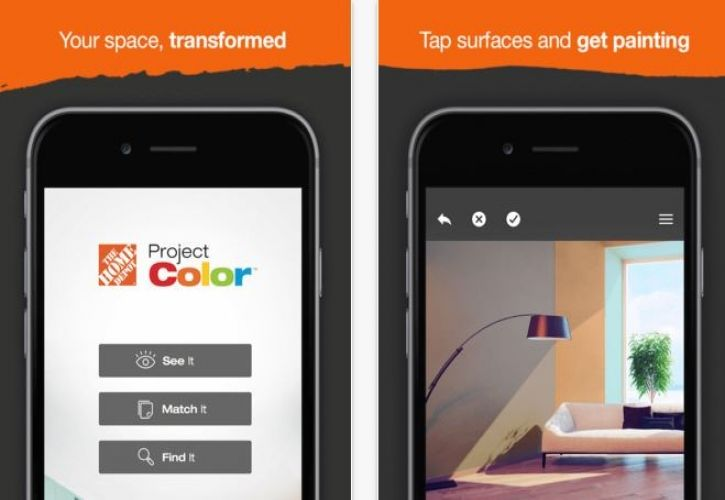 The Home Depot Launches Project Color App