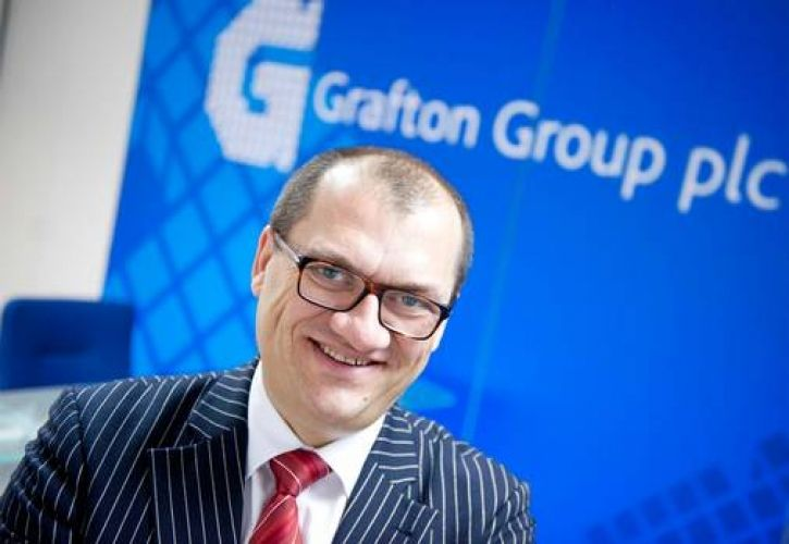 Gavin Slark Grafton Group CEO