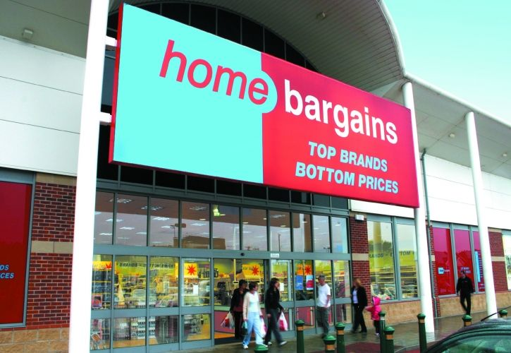 Home Bargains store