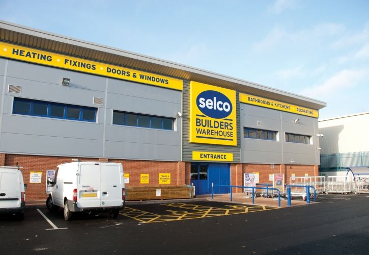 Selco Builders Merchants entrance