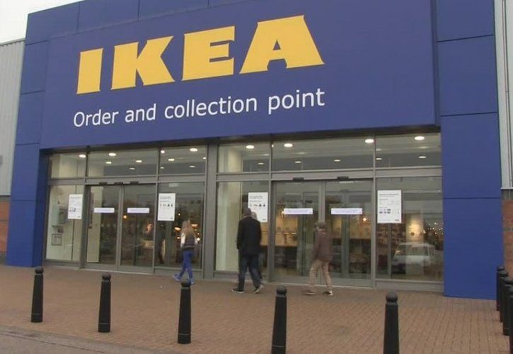 IKEA Norwich collection and order point