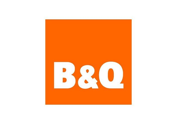 B&Q logo on white background