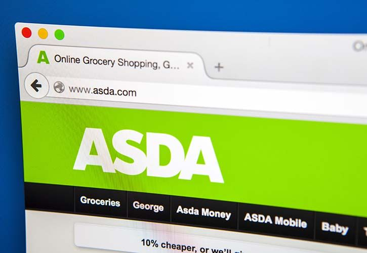 ASDA website - CREDIT - shutterstock_288706253