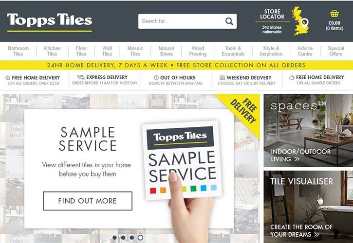 Topps Tiles website March 2016 725 x 500