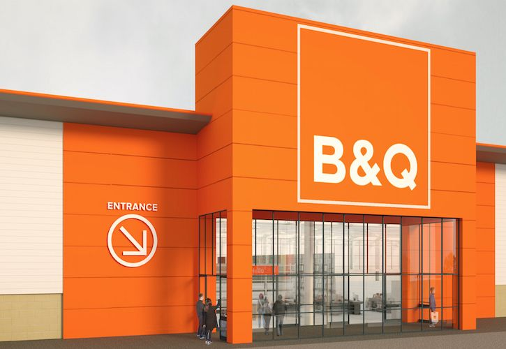 B&Q Cribs new store