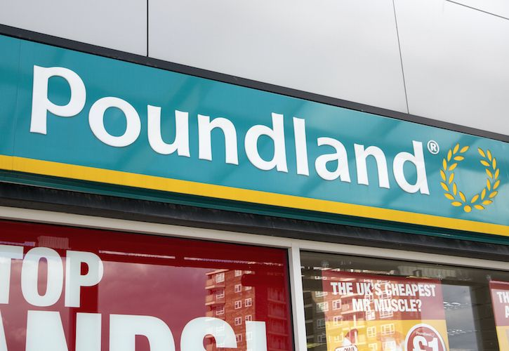 Pound land store front