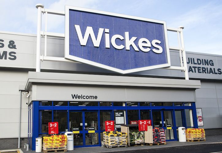 Wickes new frontage