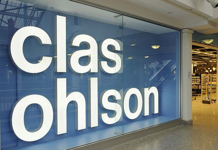 Clas Ohlson store 725 x 500