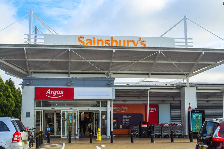 Argos Sainsbury's Stoke-on-Trent 725 x 500