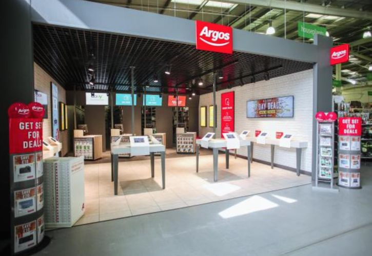 Argos digital store in Homebase