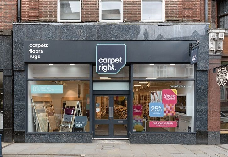Carpetright Reigate concept store 725 x 500