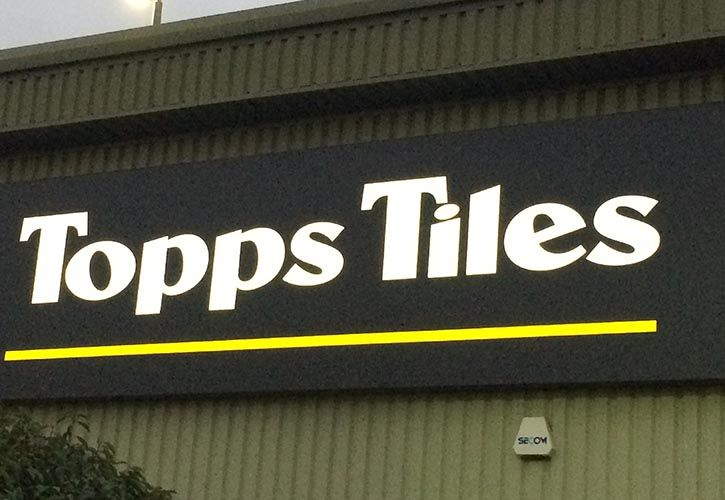 Topps Tiles Loughborough Retail Park 725 x 500