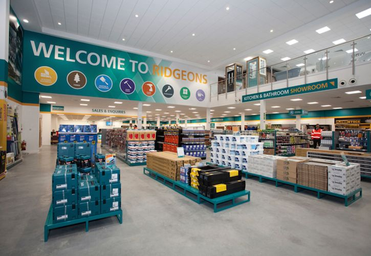 Ridgeons branch inside