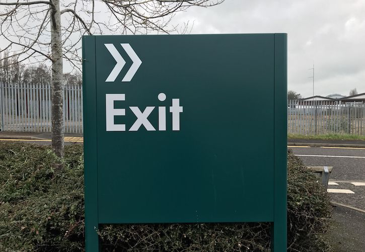 Bunnings Exit