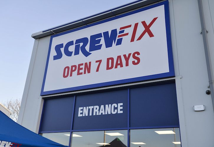 Screwfix Peterborough