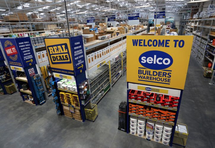 Inside new Selco store