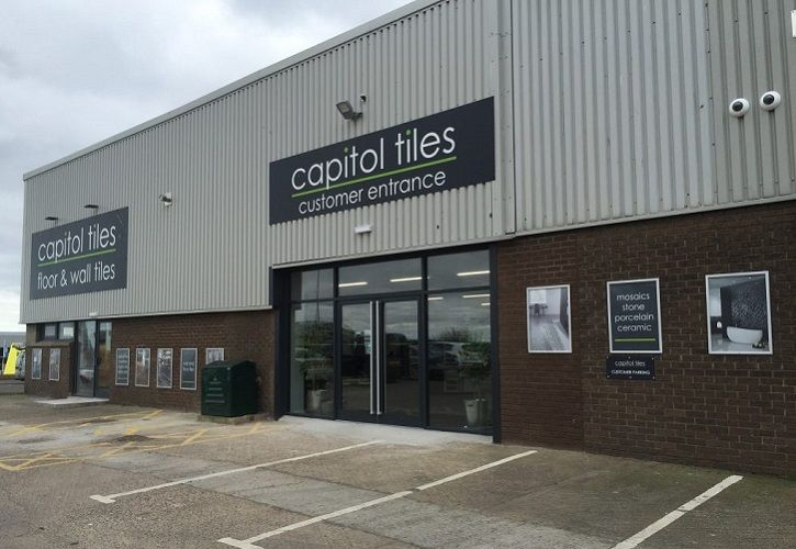 Capitol Tiles Edinburgh showroom 725 x 500