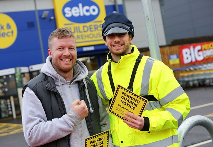 Selco Cricklewood opening day parking ticket 725 x 500.jpg