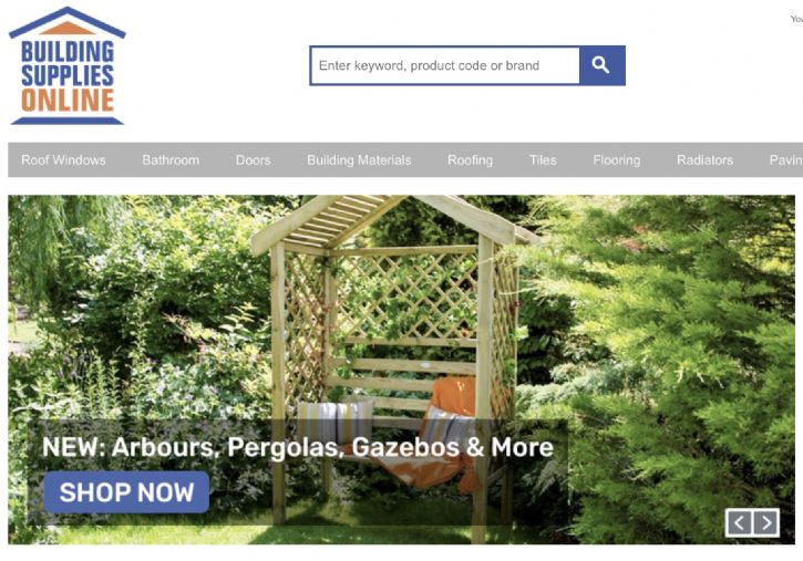 Building Supplies Online Launches Garden And Outdoor Categories
