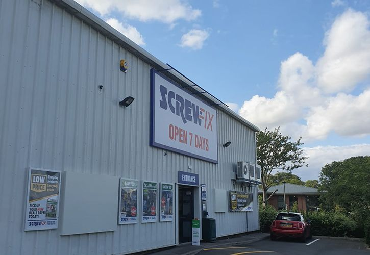 Screwfix Northallerton 725 x 500