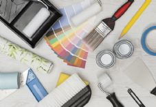DIY, paint, paintbrush, colour chart, decorate, tools.jpg