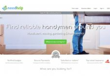 NeedHelp homepage