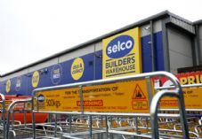Selco trolleys and sign.JPG