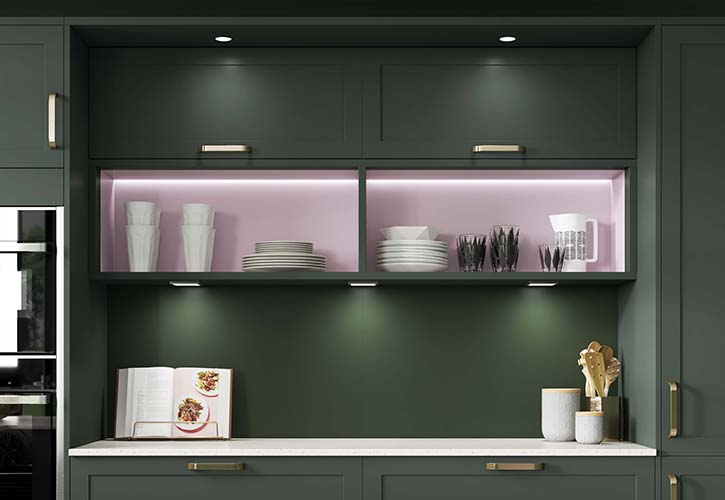 Wickes Extends Kitchen Range To Include Forest Green Shade